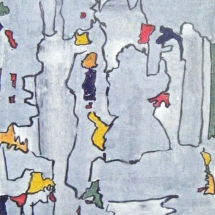 02 Acrylic on paper (Pt series) €95