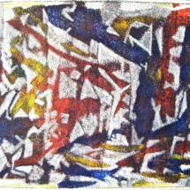 03 Acrylic on textured paper 80 x 52 cm/ 31 x 20 in (Pt of series) €225