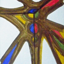 05 Acrylic on paper 40 x 30 cm/ 16 x 12 in. €125