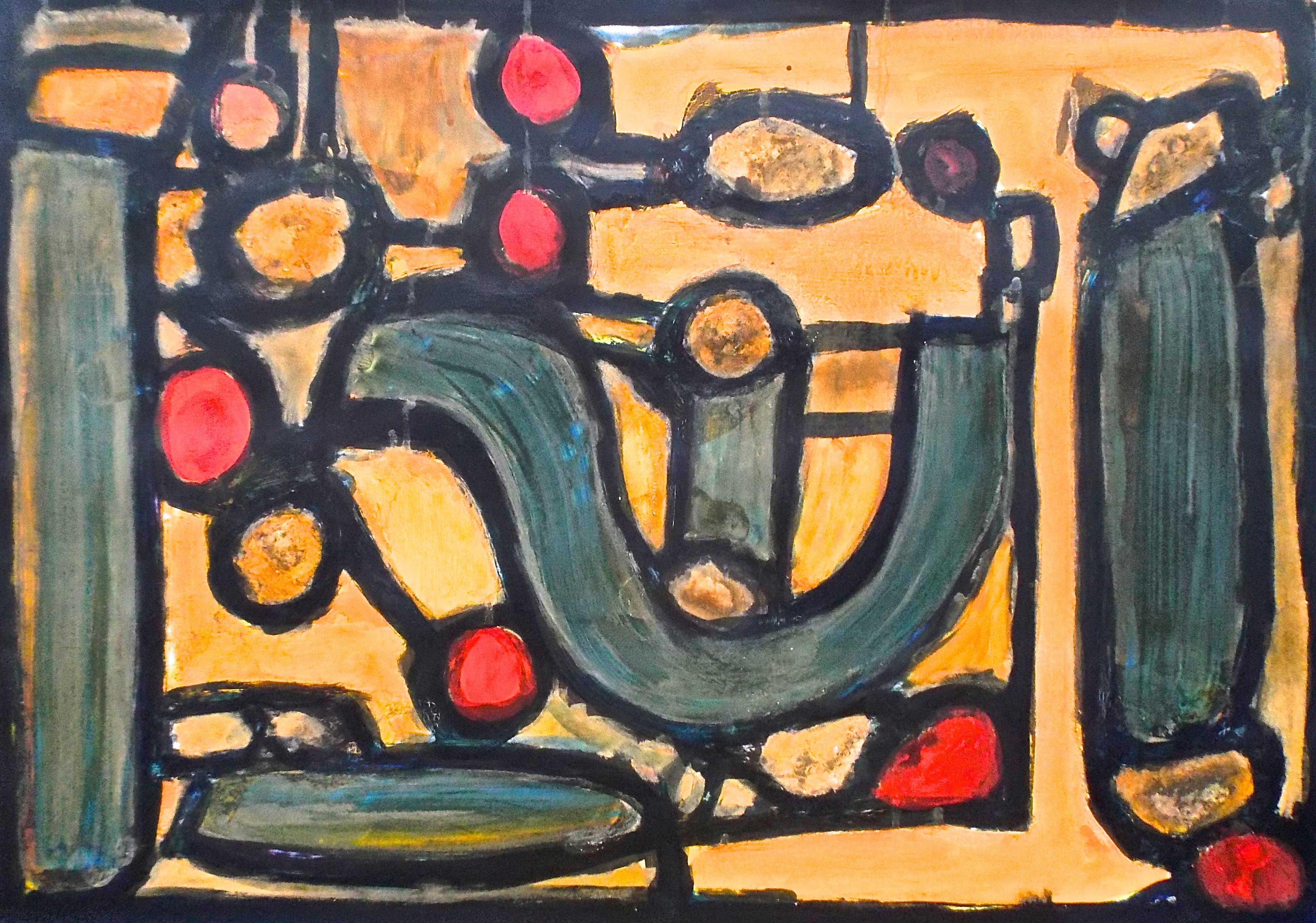 Abstract Art - John H-Falkner