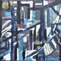 24 Acrylic on canvas.41 x 33 cm/16 x 13 in. €250