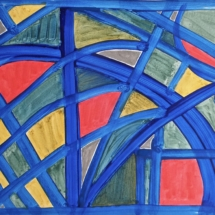 25 Acrylic on paper 50 x 40 cm / 20 x 16 in ( One of two) €175