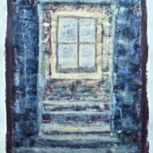 'Window' Acrylic on paper.(Pt series) €225